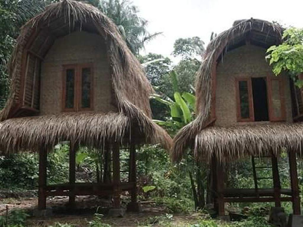 Ini Rumah Anti Gempa Asli Lombok
