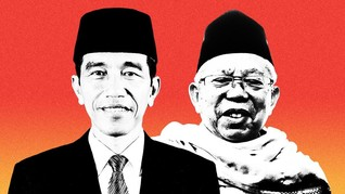 Periksa Fakta Joko Widodo-Ma'ruf Amin