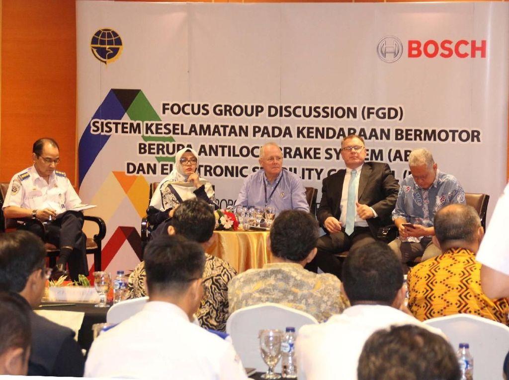 ABS Mampu Kurangi Kecelakaan Hingga 27% di Indonesia