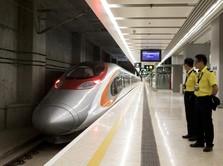 Wuss...Jakarta-Semarang Tersambung Kereta Cepat 2024