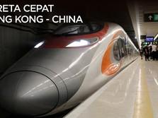 Kereta Cepat Hong Kong-China Dioperasikan!