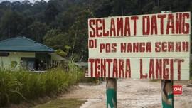 VIDEO: Pos Tentara Langit di Tapal Batas Indonesia-Malaysia