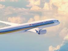 Usai PHK 2.400 Staf, Singapore Airlines Rilis Obligasi Rp 5 T