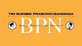 INFOGRAFIS: Daftar Tim Sukses Prabowo-Sandiaga