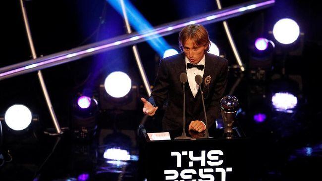 Luka Modric Puas Akhiri Dominasi Ronaldo dan Messi