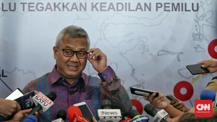 KPU Jawab Tudingan Prabowo Soal Penggelembungan Suara