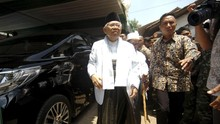 Cawapres Ma'ruf Amin Melawat ke Singapura