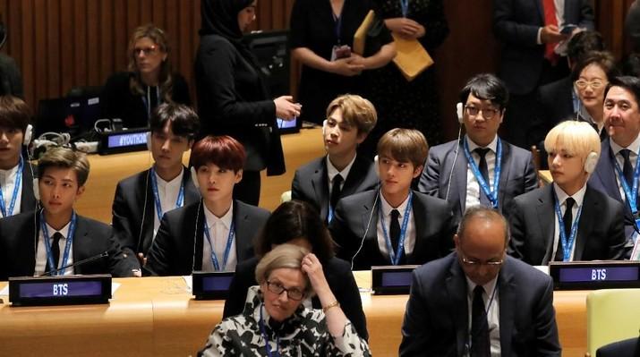 Saat Boyband BTS Bicara Soal Pemuda di Sidang PBB