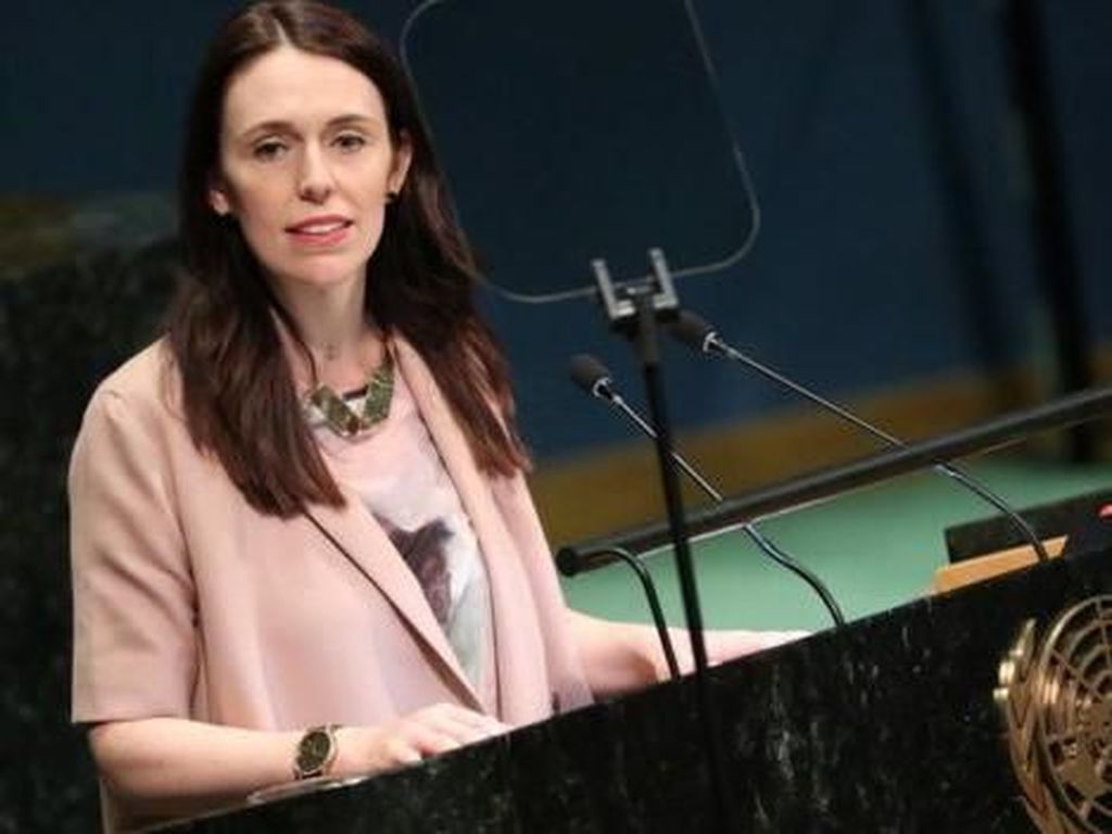 Perdana Menteri Wanita Ini Viral karena Bawa Bayinya ke Sidang PBB