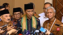 Jokowi Peringati Maulid Nabi Bersama Ulama dan Anak Yatim