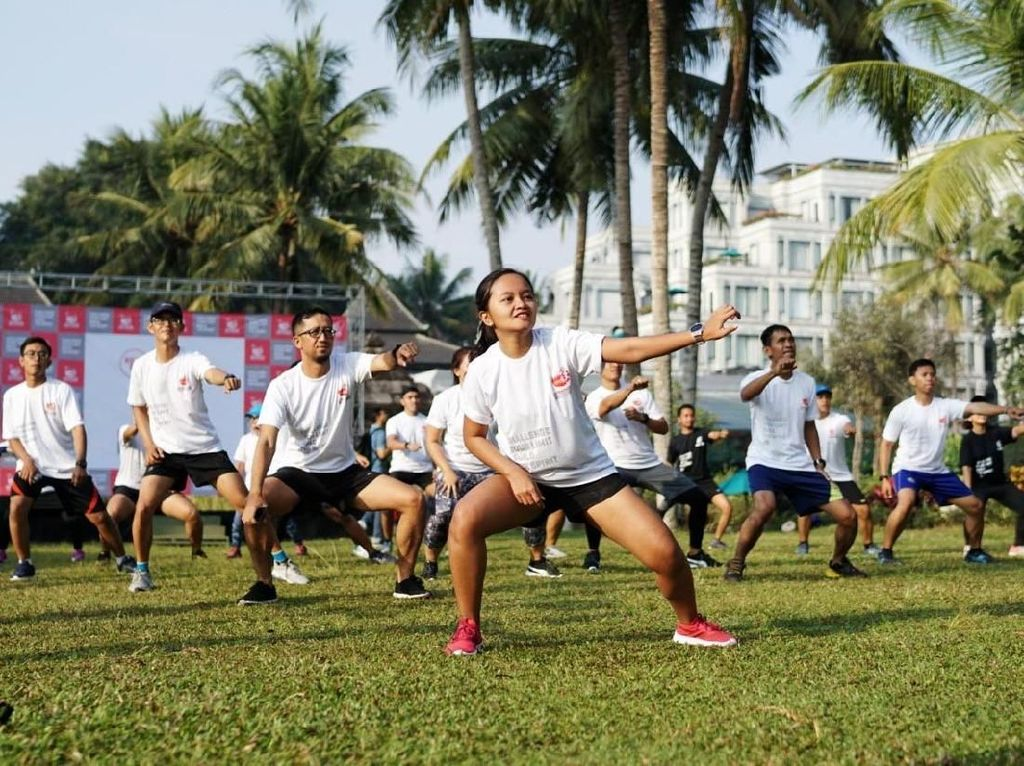 Kegiatan ini diikuti 75 pelari dari berbagai komunitas di Yogyakarta. Istimewa/Semen Indonesia.