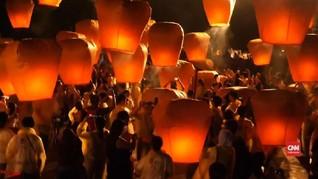 VIDEO: Festival Lampion ke-20 di Taiwan