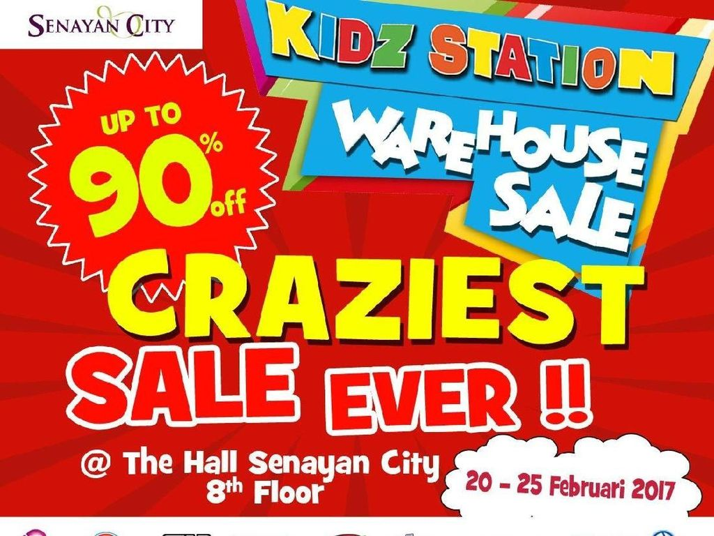 Heboh Diskon Mainan Anak hingga 90% di Senayan City, Ratusan Orang Antre