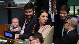 Bawa Bayi ke PBB, PM Selandia Baru Jadi Pusat Perhatian