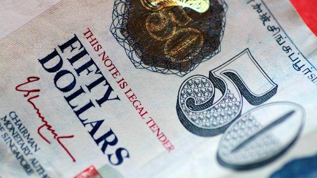 Penjualan Ritel Tumbuh Kurs Dolar Singapura Naik Lagi