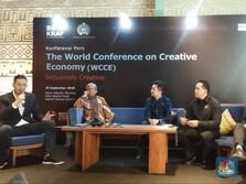 Regulasi Jadi Tantangan Pengembangan Ekonomi Kreatif