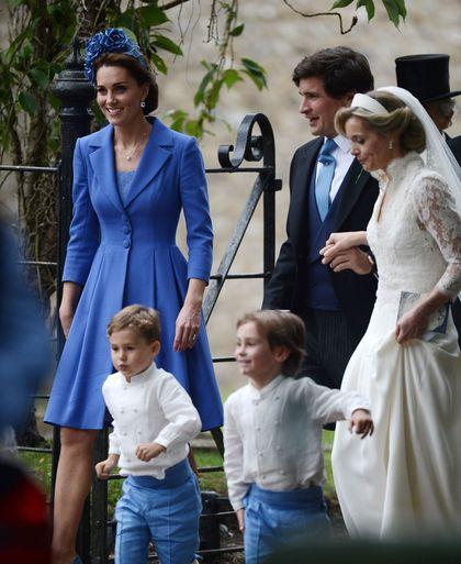 Begini Gaya Kate Middleton Saat Jadi Tamu di Pesta Pernikahan