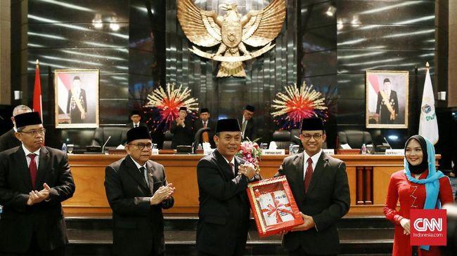 APBD Perubahan 2018 DKI Jakarta Rp83,26 Triliun Disahkan
