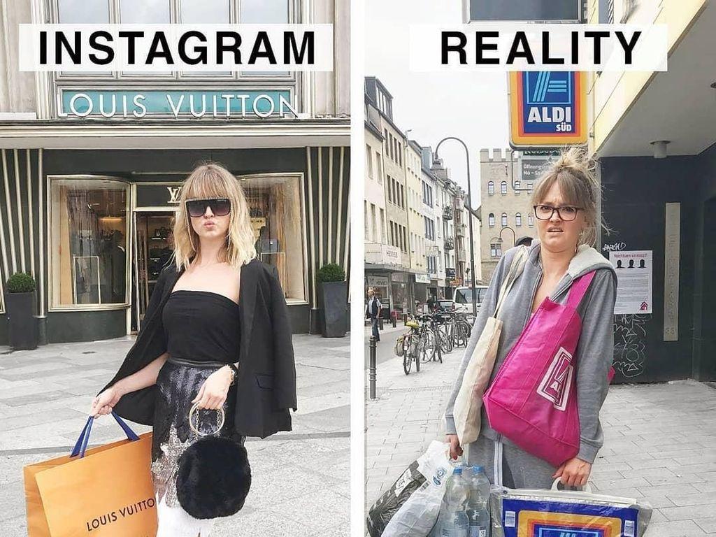 Tak Selalu Indah, Selebgram Ungkap Perbedaan antara Instagram vs. Kenyataan
