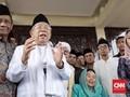 Ma'ruf Amin Klaim Mahfud MD Dukung Jokowi-Ma'ruf di Pilpres