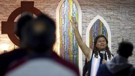 FOTO: Pastor Transgender Ajukan Diri Jadi Caleg di Brazil