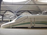 FOTO: Mewahnya Kereta Cepat yang Hubungkan Mekah-Madinah