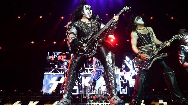 Vokalis Flu, Kiss Batal Tur Perpisahan di Australia