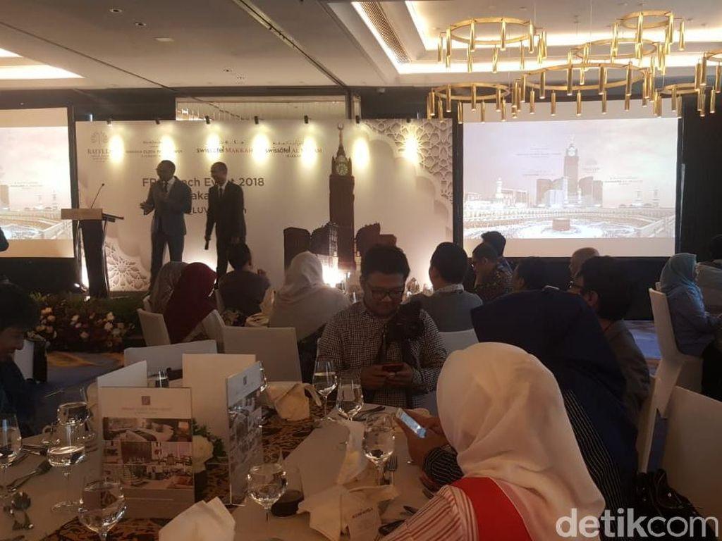Jamaah Indonesia Terbesar Kedua di 4 Hotel Mewah Makkah
