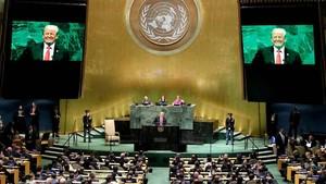 Trump Banggakan Pencapaian, PBB Tertawa