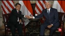 VIDEO: JK Singgung Hubungan Ekonomi Saat Temui Mike Pence