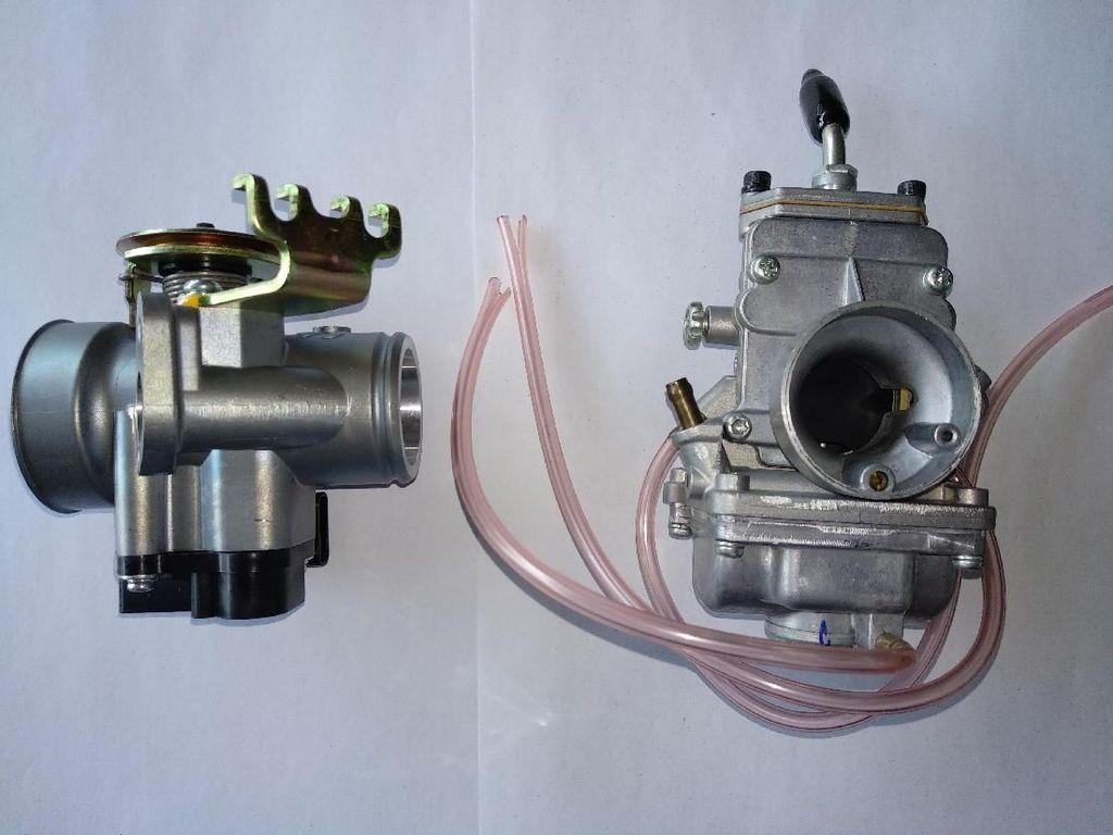 Biaya Servis Motor Karburator vs Motor Injeksi