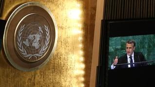 Macron 'Tekan' AS dalam Pidato Sidang PBB