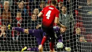 FOTO: Manchester United Tersingkir di Piala Liga