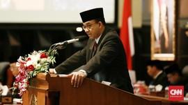 Anggaran DKI Naik Rp6 T, Anies Tak Kecewa PMD BUMD Ditolak