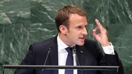 Macron Kecam Kebijakan 'Isolasi' Trump Terhadap AS