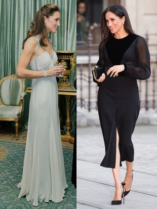 Adu Gaya Kate Middleton Vs Meghan Markle Tugas Solo Perdana, Stylish Mana?