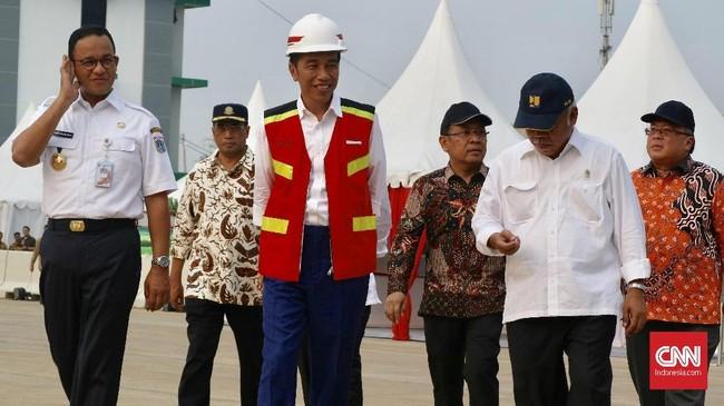 Tol ini bakal memudahkan masyarakat Andara, Gandul, Depok menuju Jakarta. (CNNIndonesia/Christie Steafanie)