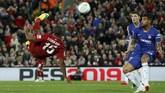 Liverpool mencetak gol lebih awal lewat salto Daniel Sturridge pada menit ke-58. (REUTERS/Andrew Yates)