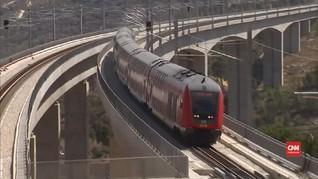 VIDEO: Palestina Anggap Kereta Cepat Israel Sita Tanah Mereka