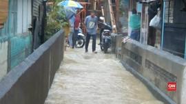 VIDEO: Ratusan Rumah di Padang Terendam Banjir Bandang