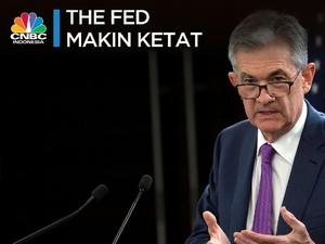 Naikkan Bunga Acuan Lagi, Kebijakan The Fed Makin Ketat
