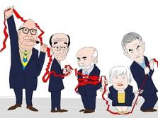Naik Turun 39 Tahun Perjalanan Suku Bunga The Fed