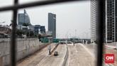 Sementara seksi III Sawangan-Bojong Gede, Bogor dengan panjang 9,5 KM diperkirakan selesai 2021. (CNN Indonesia/Andry Novelino)