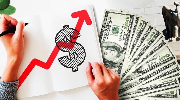 Probabilitas The Federal Reserve mengerek suku bunga acuan pada bulan depan kini tersisa 65,4% saja.