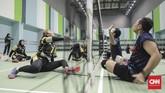 Cabang bola voli duduk Asian Para Games 2018 dijadwalkan digelar di Tennis Indoor Gelora Bung Karno. (CNN Indonesia/ Hesti Rika)