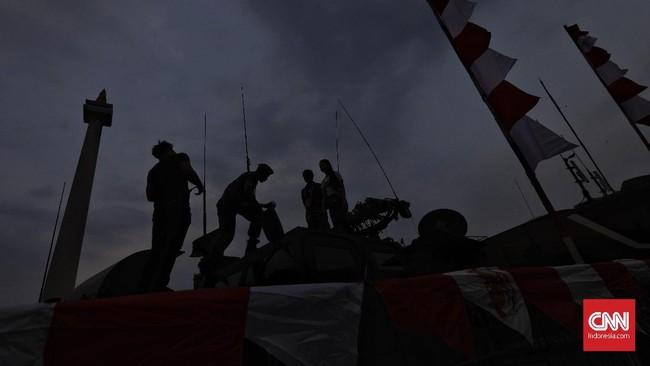 Pameran senjata, nantinya tidak hanya berlangsung di Jakarta, tetapi juga hampir di seluruh kodam di Indonesia. (CNNIndonesia/Adhi Wicaksono).
