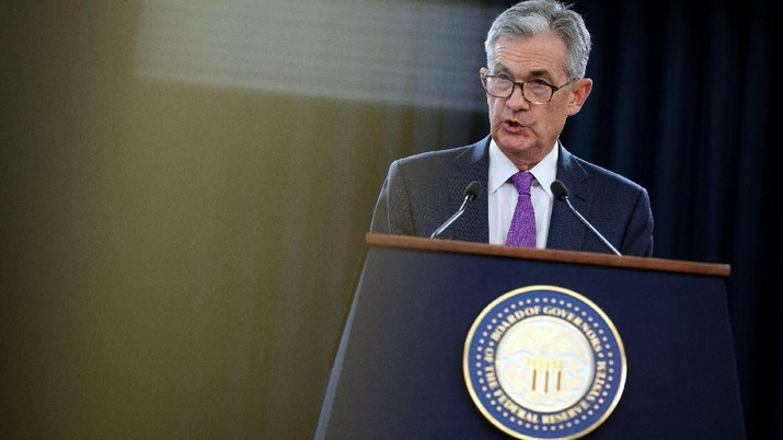 Saat Jerome Powell Umumkan Kenaikan Bunga Acuan The Fed