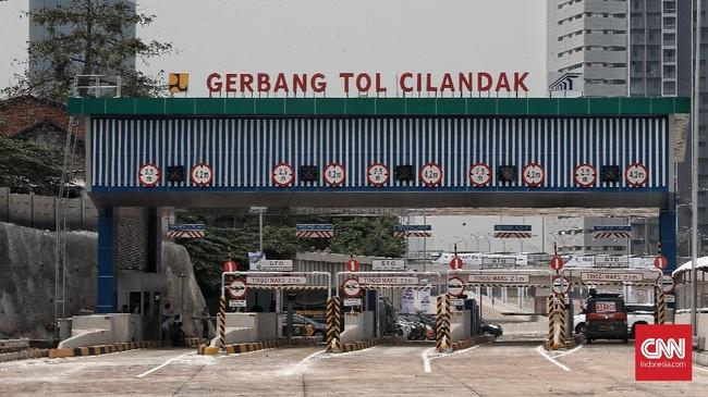 Seluruh pelayanan transaksi nantinya menggunakan non-tunai melalui Gardu Tol Otomatis (GTO) Single dan GTO Multi golongan. (CNN Indonesia/Andry Novelino)