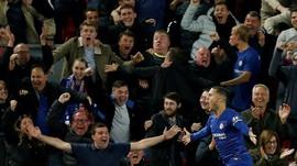 FOTO: Chelsea Singkirkan Liverpool di Piala Liga Inggris