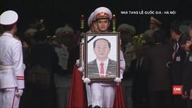 VIDEO: Presiden Vietnam Tran Dai Quang Dimakamkan